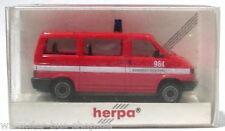 VW Bus T4 Modell - Herpa 1:87 H0 - Brandweer Hoogovens - NEU & OVP