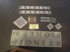Raleigh Pioneer decal set. 1990