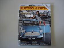 RUOTECLASSICHE 8/2011 VOLVO 1800 ES/PORSCHE 959/FERRARI 375/MORRIS MINI MINOR
