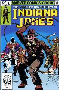 Further Adventures Of INDIANA JONES # 1 Byrne MARVEL 1983 NM *ShipFree w/$35 Com