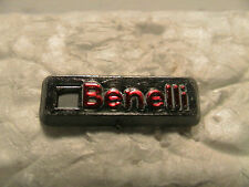 BENELLI SHOT GUN RIFLE HUNTING PLASTIC LAPEL OR HAT PIN PINBACK W/ CLASP NEW