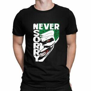 The Joker Face T shirt Movie Joaquin phoenix Harley Quinn DC Comics Batman