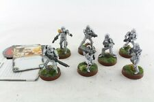 Star Wars Miniatures Stormtroopers x 7 Legion Game Well Painted V2