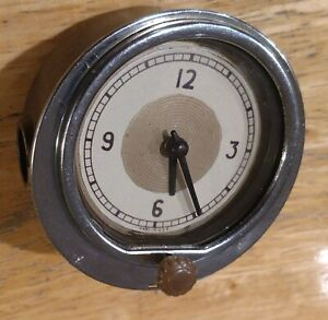 1939 Ford Clock also fits 1938 1937 Glove Box Door