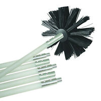 ITS- KF_ Bendable Chimney Pipe Cleaner Brush Boiler Dryer Sweep Cleaning Tools F