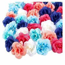 60PCS Artificial Rose Flower Heads Bulk Wedding Baby Showers Crafts, Mix, 3