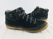 Cushe Men's Staycation Black Leather Lace Up Shoes Size 9