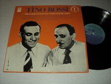 TINO ROSSI 33 TOURS LP FRANCE MES SUCCES AVEC VINCENT SCOTTO