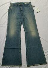 BNWT DIESEL FLAIRLEGG Ladies Relaxed Flare Wide Leg Blue Jeans Reg W29 L34 UK-10