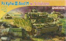Dragon 1/72 (20mm) Pz Kpfw III Ausf M with Schurzen