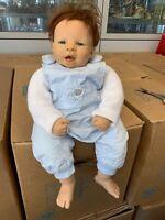 Nel de Man Vinyl Puppe 52 cm. Top Zustand