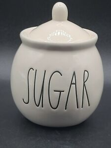 """Desirable Rae Dunn Sugar Bowl with Lid 181 Collection 6""""x4"""""""