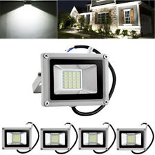 New listing 5X 20W Led Flood Light Cool White Outdoor Lighting Landscape Spotlights Dc12V