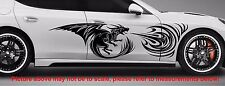 "Flaming Dragon Side Decals Sticker Vinyl Truck Car Suv 45"" X 12"""