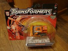 2001 HASBRO--TRANSFORMERS ROBOTS IN DISGUISE--WEDGE FIGURE (NEW)