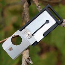 Couteau Spyderco Squarehead Black Lame Acier CTS-BD1 Manche FRN Liner SC193PBK