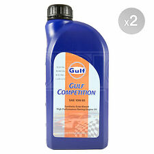 Gulf Competition 10w-60 racing engine oil (10w60) - 2 x 1 Litre