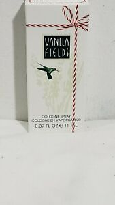 Vanilla Fields 0.37 oz Cologne Spray by Coty Travel Size New In Box