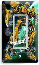 TRANSFORMERS AUTOBOT BUMBLE BEE SINGLE GFI LIGHT SWITCH BOYS ROOM HOME ART DECOR