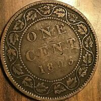 1893 CANADA LARGE CENT PENNY