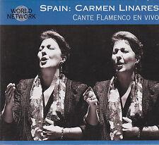 [NEW] CD: CARMEN LINARES: DESDE EL ALMA: CANTE FLAMENCO EN VIVO
