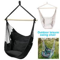 Gardeon Hammock Chair Outdoor Tassel Hanging Rope Portable Hammocks Swing