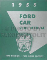 FORD 1955 Customline, Fairlaine & Thunderbird Wiring ...