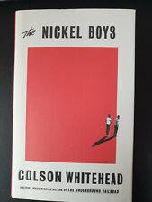 Colson Whitehead: Nickel Boys (Pullitzer Price) - Signed, 1st UK Ed. - LIKE NEW!