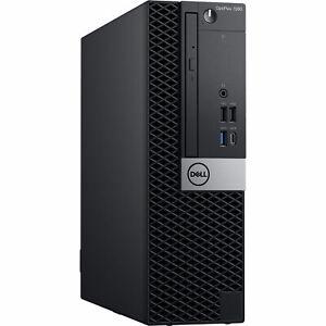 Dell Optiplex 7060 SFF Barebone Motherboard DVD chassis Bezel Fan heatsink PSU