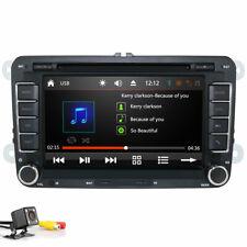 "For VW Golf MK5 MK6 Jetta 7"" Car Stereo Radio DVD Sat Nav GPS Bluetooth + Camera"