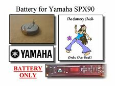 Battery for Yamaha SPX90 FX Processor - Internal Memory Replacement Battery