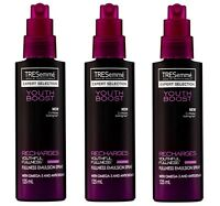 3 x TRESEMME HAIR YOUTH BOOST FULLNESS AND ANTIOXIDANTS EMULSION SPRAY RECHARGES