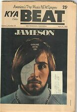 KYA Beat 1967 Teen Paper #2-20 Bobby Jameson Lee Mallory Dave Clark Five Beatles