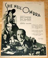 guida pubbl. Pittaluga SALON DORA GREEN Mady Christians Henrik Galeen 1933