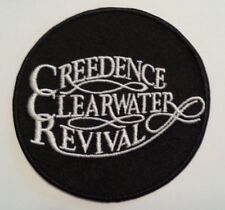 """Creedence Clearwater Revival~CCR~Rock~Embroidered PATCH~3"""" Round~Iron or Sew On"""