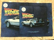 Back to the Future - DELOREAN Picture Dye Sublimation Microfiber Towels Set NEW
