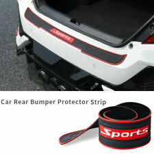 Car Rear Bumper Protector Rubber Scratch Guard Non-slip Pad Cover Accessories (Fits: Audi)