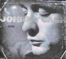 "JOHNNY CASH Brand New Digipak CD ""GOD "" - 16 Tracks - COUNTRY GOSPEL"