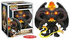 """🎬 Funko POP! Movies The Lord of the Rings 448 Balrog 6"""" Super Size Vinyl Figure"""