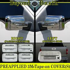 2004-2008 Ford F150 Chrome Door Handles no PSK no Keypad+Mirrors+Tailgate COVERS
