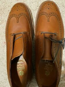 Brand New Alden for J.Crew longwing bluchers in tobacco Colour (SZ: 10 D / 43)