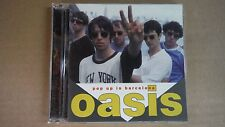 "Oasis ""Pop Up In Barcelona"" Pro Sourced Silver Disc Cd-Brand New/Never Used!"