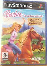 Gioco Ps2 Barbie Avventure a Cavallo Scuola di Equitazione PAL ITA Sigillato New