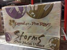 Legend Of The 5 Rings TCG CCG L5R Storms Over Matsu Palace 6-deck Retail Box