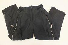 Alpine Design Black Microfiber Lined Ski/Snowboard Pants Men's XL Fast Shipping