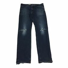 AG Adriano Goldschmied Men's The Graduate Tailored Leg Denim Jeans Size 33x32