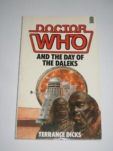 TARGET PAPERBACK DOCTOR WHO DAY OF DALEKS SKILLETER 1984 EXCELLENT CONDITION