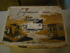 VINTAGE CAMPING HUNTING ~ MEYNELL PORTABLE PROPANE CHARCOAL STOVE ~ NEW IN BOX