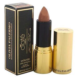 💋 CIATE Olivia Palermo Satin Kiss Lipstick CASHMERE Boxed 3.5g Classic Nude 💋