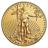 2020-W American Gold Eagle One Ounce Uncirculated Coin  Final Issue  Low Mintage